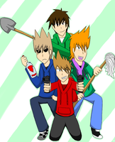 Eddsworld: Get Ready to Fight! by CrasherMang