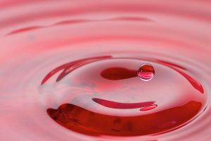 Red Crystal Water Drop by wiriadinata