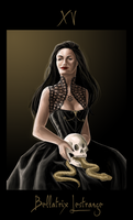 Black Tarot: Bellatrix by LyraDogstar