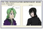 FMA Desueification: Before and After MEME by Sharerlar