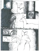 Silver Doe Manga, pg 1 by Vampiressartist