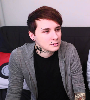 Punk Dan Howell by RMystery