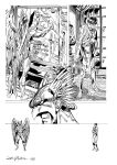 John Byrne's  Hawkman page4 by LucGrigg