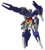 AGE-2A Gundam AGE-2 Artimes (Mobile Suit Mode) by unoservix