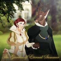 The Garden of Eternal Summer Poster by Hewylewis
