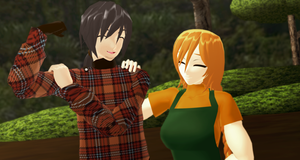 _MMD_ Look darling.. by xXHIMRXx