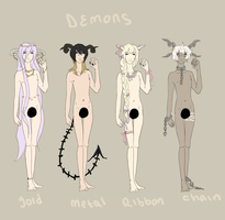 Demon Adopts! {1 Left!} by ccloudyy-adopts