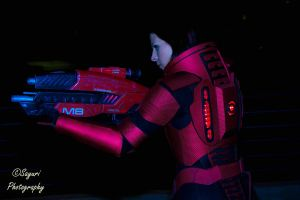 Commander Shepard Cosplay Preview by VariaK