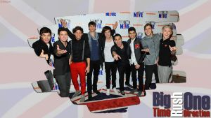 One Direction and Big Time Rush Wallpaper by gahhstar