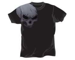 Skull tee by mike-db