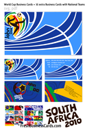World Cup Business Cards by Freshbusinesscards
