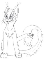 Me as a Kittle by Ravwrin-NataEl