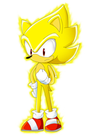 super sonic by byronhedgehog