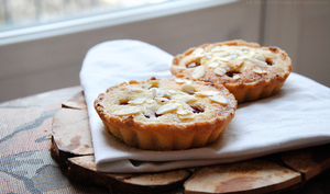 Lemon, almond and rapsberry Tarts 2 by Cachahuete