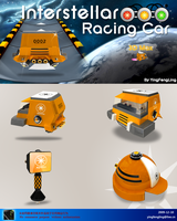 ICONS-Racing Car 0002 by yingfengling-FL