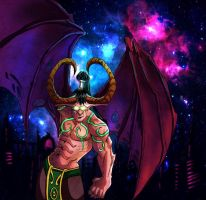 illidan World of Warcraft by discipleneil777