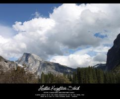 Half Dome View by HKstock