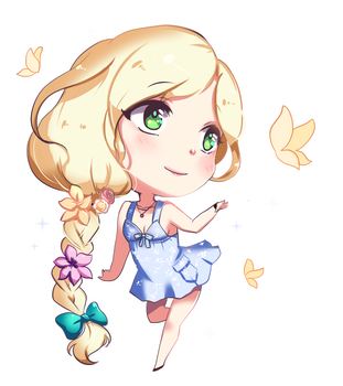 Commission- Butterfly :D by Ryuuthelazybunny