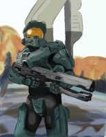 Halo 4 by onyx-forerunner