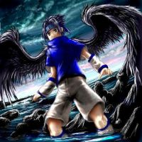 Dark Angel Sasuke by Soreiya