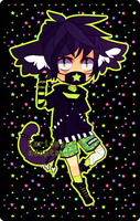 Neko Punk 48 hr Auction (Closed) by Kariosa-Adopts