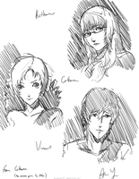 Catherine Sketches by anonamos701