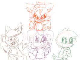 Five nights at Tails' (WIP SPOILER) by Bonnie-Wabbit