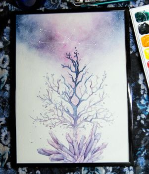 Life Watercolor by teatimetomorrow