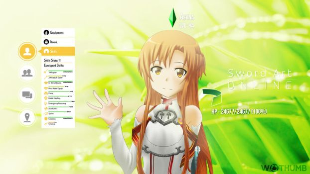 Sword Art Online - Asuna by Wes2299