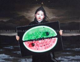 The First Painting Of Jie Xia by kolaboy
