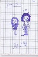 School is Boring#10---Jeff and Jane by Intruder16