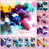 My Little Pony Pillow Pet Collage by MadameWario