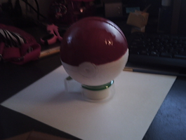 pokeball W.I.P by ShawneeRR