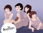 Gender swap: The Beatles by quidwitch