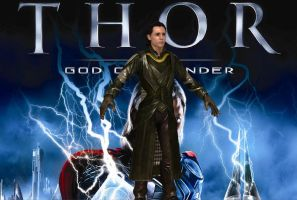 THOR GOD OF THUNDER: LOKY ORIGINAL BONES PS3 VERS by Oo-FiL-oO