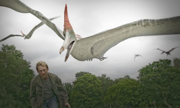 Pteranodon lomo effect by leathertachi
