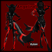 Angeline - IMVU Custom Furry by lonelycard