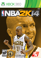 David West NBA2K14 Cover - XBOX360 by 1madhatter