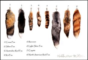 Fur Tails For Sale by NaturePunk