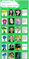 Inside Out OC Voice Actors by Toongirl18