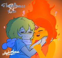 Flame Princess x Finn by thecub001