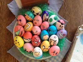 (Mostly) Video Game Easter Eggs by akuinnen24