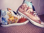Star Wars Shoes Side 2 by DeadlySemicolon