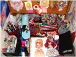 My Chibi Work Desk by Lettelira