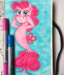 MLP:the Movie Pinkie Pie seapony by Antych