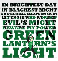 Green Lantern poster by TheNoirGuy