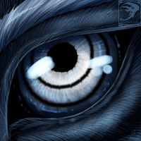 Eye-Con Comish - Contrast by TwilightSaint