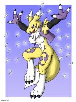 Renamon Diamons storm by Reagan700