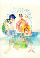 kyoshin swim club by faQy