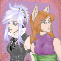 -+-The DJ and the Wolf-+- by zirio
